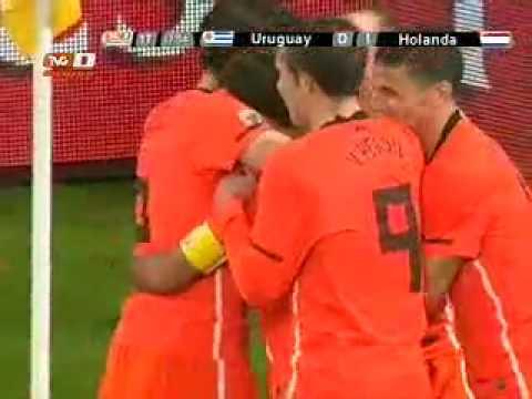 Uruguay VS Holanda 3-2 Highlights (HD)