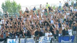 "CURVA NORD ANDRIA 2009- 2010    "" escape velocity "" chemical brothers"