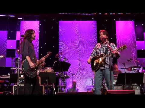 Exclusive Rehearsal: John Fogerty Foo Fighters Fortunate Son Clive Davis Pre Grammy Gala 2014