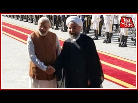 Narendra Modi In Iran: Receives Ceremonial Welcome In Tehran