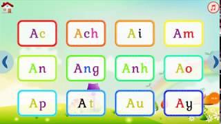 Baby learn to spell letters - Child education - max game tube #2 Bé học đánh vần chữ cái