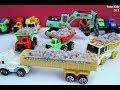 Toys Construction Dum Truk, Excavator For Children I Mainan Pasir Kinetik