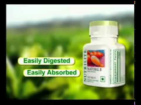 Amway Product Nutrilite Natural B   Youtube video