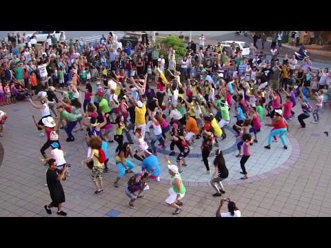 ##OKI FLaSH MOB## . LMFAO Party Rock Anthem