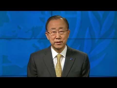Ban Ki-moon on International Day of Happiness 2015 - Video message