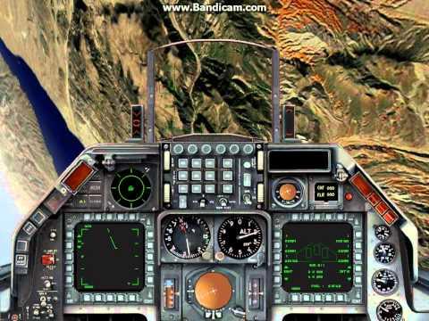 F-16 vs Mig-29 Dogfight (1999 Janes USAF)
