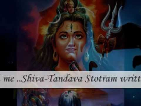 Shiva-tandava Stotram Written By Ravana - Happy Mahashivaratri video