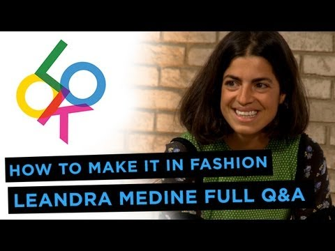 Leandra Medine Full Q&A: How to Make it in Fashion from Fashionista