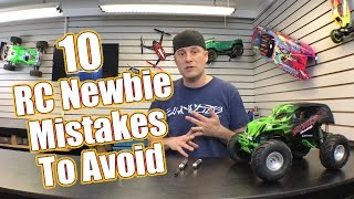 10 RC Newbie Mistakes To Avoid - RC Driver