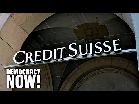 Too Big To Jail? Credit Suisse Bank Pleads Guilty to Decades of Tax Evasion, But Execs Avoid Prison
