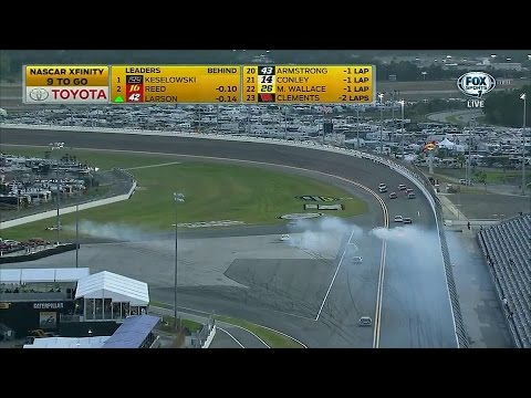 2015 NASCAR Xfinity Series at Daytona | Second Big Crash