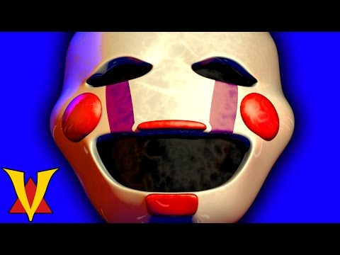 LOL FUNNY PUPPET!! Gmod Five Nights At Freddy's Marionette Mod (Garry'...