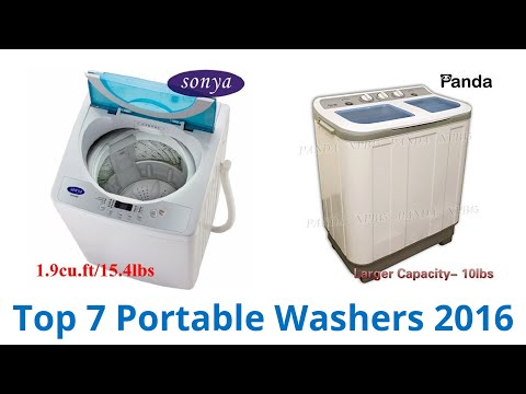 7 Best Portable Washers 2016