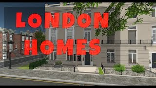 Rent a Home in London ~ Come on a tour of London houses with me in Second Life