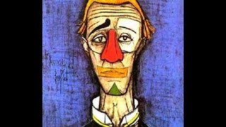 LE CLOWN (1957). GIANI ESPOSITO. BERNARD BUFFET. + LYRICS.