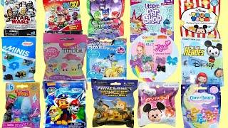 Blind Bags Opening Toys Disney Paw Patrol Peanuts Trolls PJ Masks CAre Bears JOJO Siwa Surprises MLP