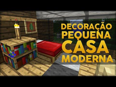 Minecraft: Decoração da Pequena Casa Moderna 3