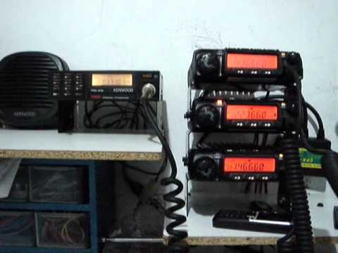 Kenwood Personal Transceiver PRC-21G 1st test on HAM Band 33 cm 903.775 mhz part 1