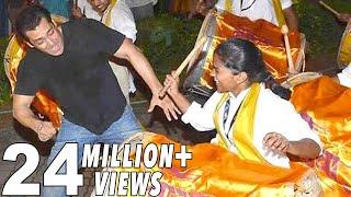 Salman Khans CRAZY Dance On Nashik Dhol At Gapati Visarjan
