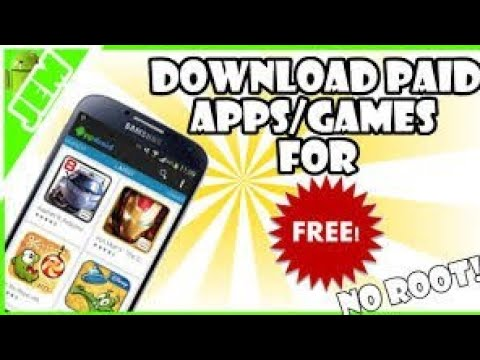 How to download paid game and apps for free