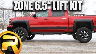 "How to Install Zone 6.5 "" Off-Road Suspension Lift Kit"