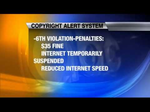 New Alert System to Combat Illegal Internet Downloading