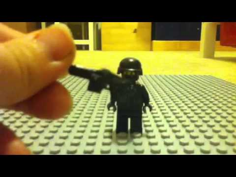 How to make a Lego SWAT team guy