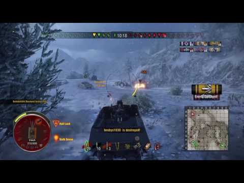 World of tanks PS4 The last stand of Nashorn