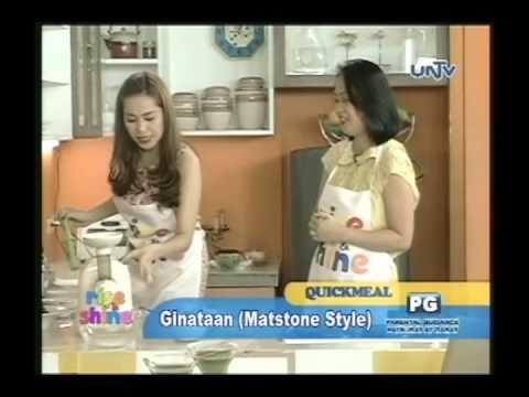 Skin Detox Juice and Ginataan using Matstone Juicer