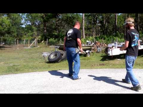 12 gauge vs toy helicopter