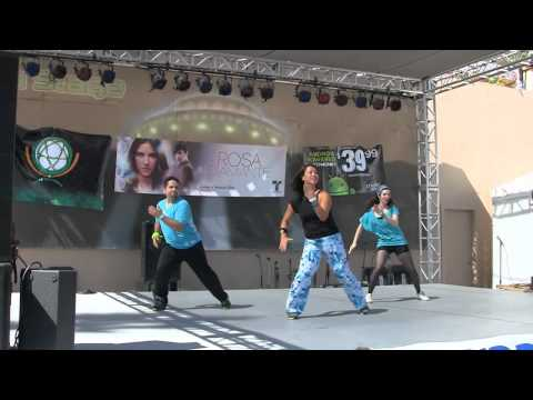 Party Fitness Zumba Studio at Del Mar Fair 2012!