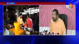 టీఆర్ఎస్ కోసం పోసాని పూజలు | Posani Krishna Murali Perform Pooja For TRS Winning