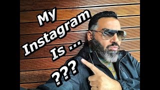 Azis New ''Instagram'' Adress