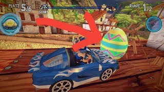 All Easter Eggs - Beach Buggy Racing | PS4 PRO
