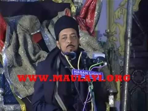 Allama Zameer Akhtar Naqvi In Chota Imambada,lucknow 2011 2nd Majlis video