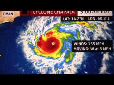 """Rare Cyclone In Arabian Sea"" Cat 4"
