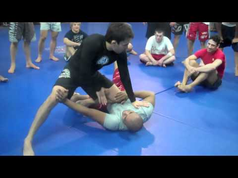Daniel Wanderley Triangle from Knee on Belly at Team Alpha Male