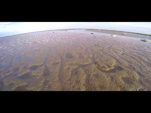Drone Visual - Two Tree Island, Leigh on Sea Aerial Footage