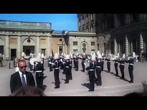 Euphoria - performed by the Royal Swedish Army band