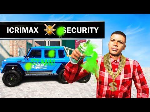 FARBANGRIFF auf iCRIMAX SECURITY! in GTA 5 RP!