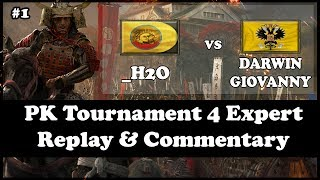 AOE3: PK Tournament 4 COMMENTARY #1 | _H20 (India) VS Darwin_Giovanny (Russia) | Round A, Group U