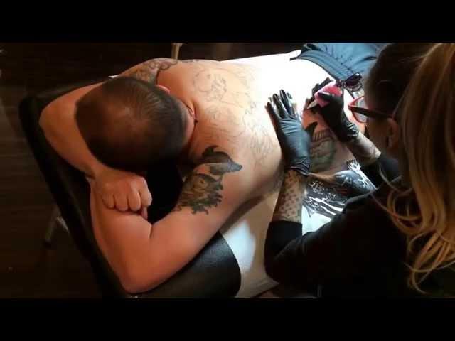 Episode 1: Tattoo sneak peek | Christine Barnum