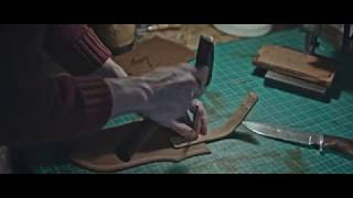 Leather Craft. Making knife sheath by Northmen Guild