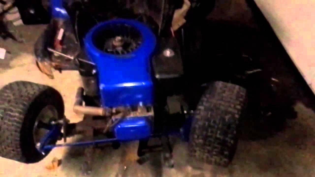Racing Mower For Sale >> racing mower steering - YouTube
