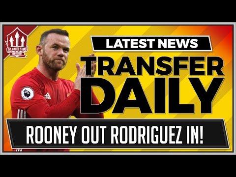 Wayne ROONEY OUT, James RODRIGUEZ IN! MAN UTD Transfer News