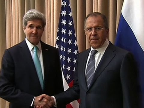 Kerry and Lavrov meet in Geneva to ease Ukraine tensions