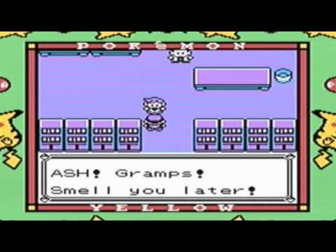 Let's Play Pokémon Yellow, Part 1 - The Nutty Professor