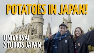 Potatoes in Japan: Universal Studios Japan