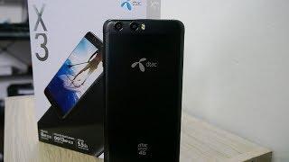 Unboxing dtac X3 แกะกล่องสมาร์ทโฟนกล้องคู่ราคาไม่ถึง 6,000 บาท จากค่ายดีแทค !!!