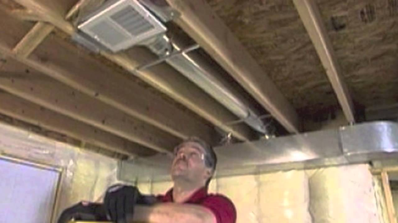 How to Add a Room Air Duct with SpeediBoot  Part 3